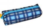Пенал-косметичка BRAUBERG полиэстер, ассорти 5 цветов, Шотландия, 20*6*4см, дисплей, 223897 оптом