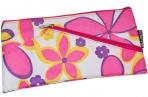 Пенал-косметичка BRAUBERG полиэстер, розовый, Цветочки, 22*11 см, 223908 оптом