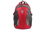 "Рюкзак для школы и офиса BRAUBERG ""StreetBall 1"", 30 л, размер 48х34х18 см, ткань, серо-красный, 224 оптом"
