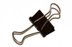 Зажимы для бумаг STAFF, эконом,  19мм, на 60 л., черные, в карт. коробке оптом