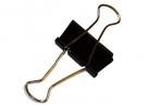Зажимы для бумаг STAFF, эконом, 32мм, на 140л.,  черные, в карт. коробке оптом