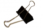 Зажимы для бумаг STAFF, эконом, 51мм, на 230 л., черные, в карт. коробке оптом