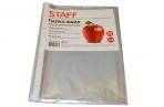 Файлы перфорированные А4 STAFF,  гладкие, Яблоко, 0, 03 мм, 224917 оптом