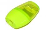 Точилка BEIFA (Бэйфа) с контейнером, овальная, пластиковая, ассорти, APS105 оптом