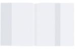 Обложка ПП для учебника Петерсон, Моро (1, 3), Гейдмана, STAFF/ПИФАГОР, универсальная, прозрачная, 70 мкм, 270х490 мм, 225185 оптом