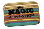 """Резинка стирательная KOH-I-NOOR """"Magic"""", 35x24x8 мм, разноцветная, ассорти, карт диспл, 6516040001KD оптом"""