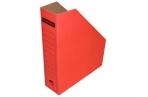 Лоток вертик гофро 75 мм А4  красный 700 листов оптом