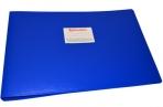 Папка 4 кольца BRAUBERG Cтандарт, А3, ГОРИЗОНТАЛЬНАЯ, 30мм, синяя, до 250 листов, 0, 8мм, 225767 оптом