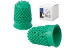 Напальчник для бумаги резиновый, диаметр 18 мм, высота 30 мм, ALCO (Германия) 766, зеленый, 811525 оптом