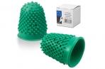 Напальчник для бумаги резиновый, диаметр 20 мм, высота 32 мм, ALCO (Германия) 767, зеленый, 811526 оптом