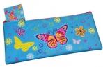 Пенал-косметичка BRAUBERG для начальной школы, девочка, голубой, Махаон, 20*10 см оптом