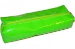 Пенал-косметичка BRAUBERG под искусственную кожу, Блеск, зеленый, 20*6*4 см, 226721 оптом