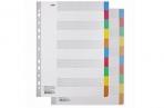 Разделители листов А4 (10 листов 297х225 мм) картонные, 10 цветов, HATBER, 4AR_11004, М224816 оптом