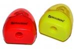 Точилка BRAUBERG BELL с контейнером, пластиковая, конусообразная, цвет корпуса ассорти, 226937 оптом