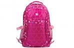 Рюкзак BRAUBERG молодежный, Сердечки, нейлон, красный, 31х12х45 см, 227074 оптом