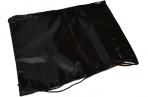 Сумка для обуви BRAUBERG ПРОЧНАЯ, на шнурке, черная, 42x33 см, 227143 оптом