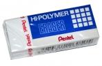 """Ластик PENTEL (Япония) """"HI-POLYMER ERASER"""", 43х17, 5х11, 5 мм, белый, прямоугольный, картонный держатель, ZEH-05 оптом"""
