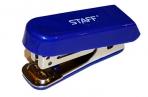 Степлер №10 МИНИ STAFF, до 10 листов, с антистеплером, синий, 227404 оптом