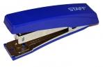 Степлер №10 STAFF, до 10 листов, с антистеплером, синий, 227405 оптом