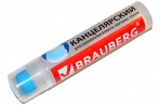 Клей канцелярский BRAUBERG, 50мл, с силиконовым аппликатором, 227535 оптом