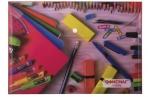 Папка-конверт с кнопкой А4, ОФИСМАГ, 160 мкм, до 100 листов, цветная печать, оптом