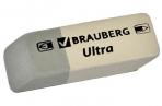 "Ластик BRAUBERG ""Ultra"", 41х14х8 мм, серо-белый, натуральный каучук, 228703 ОЗ оптом"