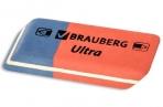 """Ластик BRAUBERG """"Ultra"""", 42х14х8мм, красно-синий, натуральный каучук, 228708 оптом"""