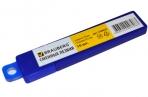Лезвия для ножей BRAUBERG, КОМПЛЕКТ 10 шт., 18мм, толщина лезвия 0.5 мм, в пластиковом пенале, оптом