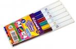"""Фломастеры Luxor """"Coloring"""", 06цв., смываемые, ПВХ, европодвес оптом"""