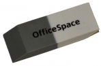 Ластик 41*14*8 мм скошенный, комбинированный, термопластичная резина,, OfficeSpace оптом