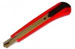 Нож универс LACO 9 мм, автофиксатор, цв. корп. +2лезвия оптом