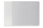 Обложка для студенческого билета, удостоверения, 106х74 мм, ПВХ, прозрачная, ДПС, 1098. К оптом