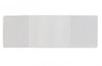 Обложка для студенческого билета, удостоверения, 112х78 мм, ПВХ, прозрачная, ДПС, 1832. К оптом