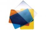 Обложка-карман для проездных документов, карт, пропусков, 98х65 мм, ПВХ, прозрачная, ассорти, ДПС, 1164. 250. Ф оптом