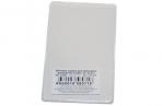 Обложка-карман для проездных документов, карт, пропусков, 98х65мм, ПВХ, прозрачная, ДПС, 1164. 250. Ф оптом