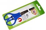 Ножницы KOH-I-NOOR, 135 мм, классической формы, цвет ручек красный, картонная упаковка с подвесом, 9978001008BL оптом