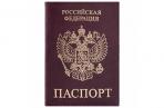 """Обложка для паспорта STAFF Profit, экокожа, """"ПАСПОРТ"""", бордовая, 237192 оптом"""