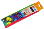"""Карандаши цветные 06цв пластиковые ArtSpace """"Подводный мир"""", заточен., картон, европодвес оптом"""