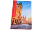 "Ежедневник недат., A5, 136л., 7БЦ ""Путешествия. Прага"", глянцевая ламинация, OfficeSpace оптом"