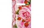 """Пакет """"Розовые бусы"""", полиэтиленовый с вырубной ручкой 20 х 30 см, 35 мкм оптом"""