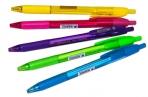 """Ручка шариковая автомат. синяя, 0, 7мм, трехгр., игол.  Berlingo """"Triangle 110 RT Color"""" оптом"""
