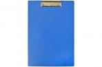 Планшет А4 пластик с зажимом OfficeSpace синий оптом