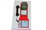"""Телефонная книга А5, 80л., 7БЦ,  """"Таксофон"""", выборочный уф-лак, с высечкой, OfficeSpace оптом"""