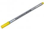 "Ручка капиллярная Luxor ""Fine Writer 045"" желтая, 0, 8мм оптом"