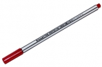 "Ручка капиллярная Luxor ""Fine Writer 045"" красная, 0, 8мм оптом"