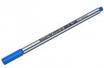 "Ручка капиллярная Luxor ""Fine Writer 045"" голубая, 0, 8мм оптом"