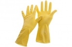 Перчатки резиновые хозяйственные OfficeClean Универсальные, р. XL, желтые, пакет с европодвесом оптом