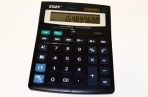 Калькулятор STAFF настольный STF-888-12, 12 разрядов, двойное питание, 200х150мм оптом