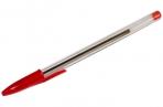 Ручка шариковая красная, 0, 7мм, OfficeSpace оптом