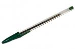 Ручка шариковая зеленая, 0, 7мм, OfficeSpace оптом